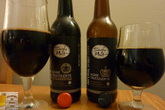 Simple Malt : Noire Truculente et sa version fût de bourbon