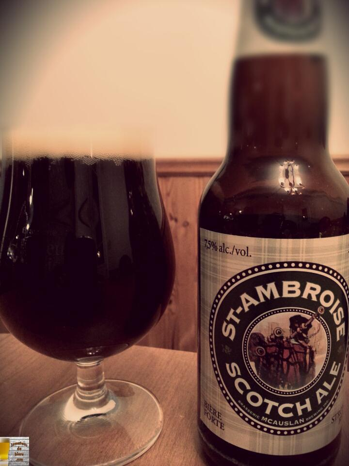 St-Ambroise Scotch Ale de McAuslan