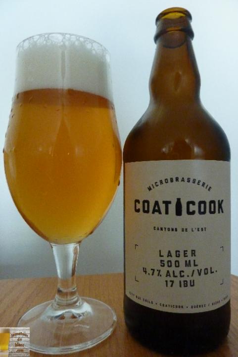 Lager de la Microbrasserie Coaticook