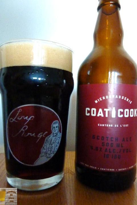 Scotch Ale de la Microbrasserie Coaticook