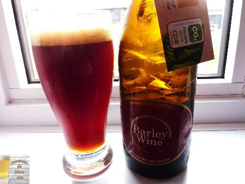 Barley Wine de Brasseur de Montréal