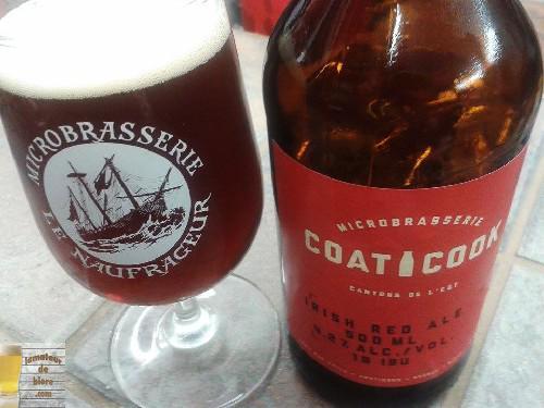 Irish Red Ale de la Microbrasserie Coaticook