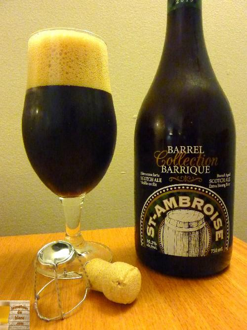 St-Ambroise Scotch Ale Collection Barrique de McAuslan