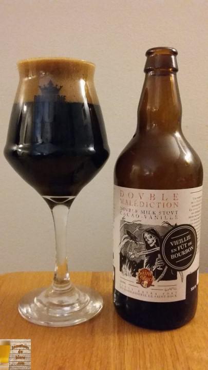 Double Malédiction Bourbon du Saint-Bock