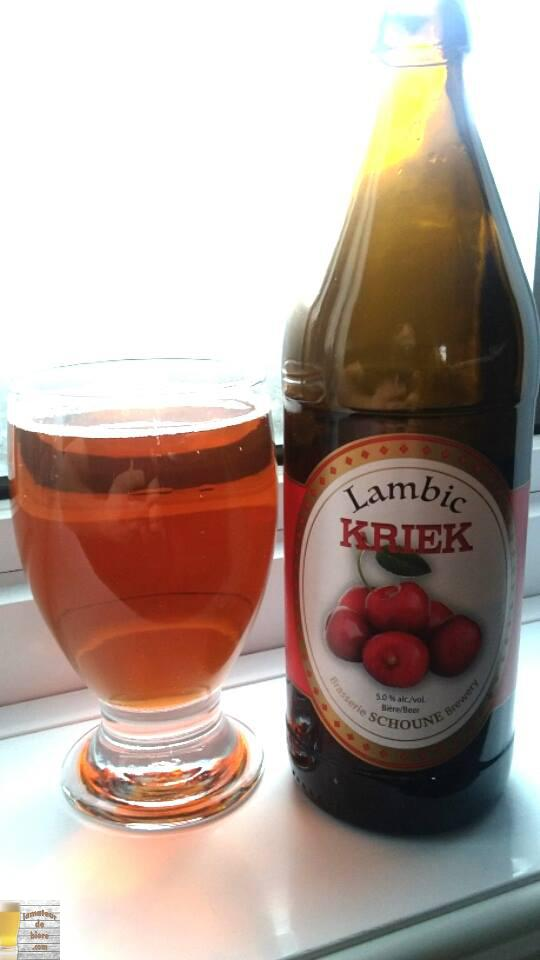 Lambic Kriek de la Schoune