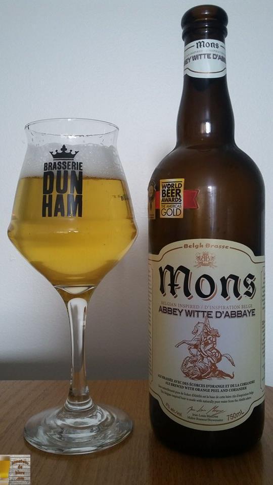 Mons Abbey Witte de Belgh Brasse
