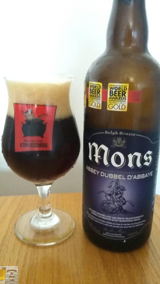 Mons Dubbel d'Abbaye de Belgh Brasse