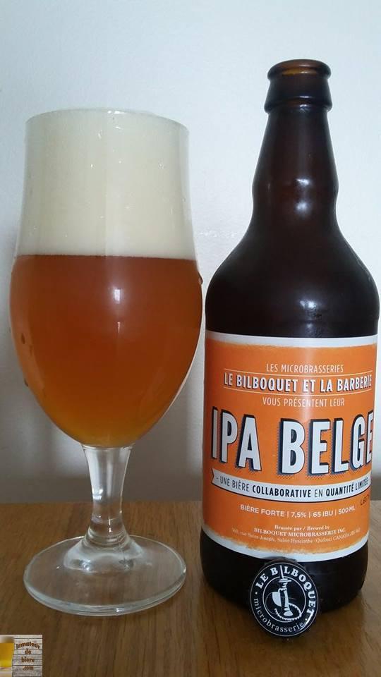 IPA Belge du Bilboquet et la Barberie