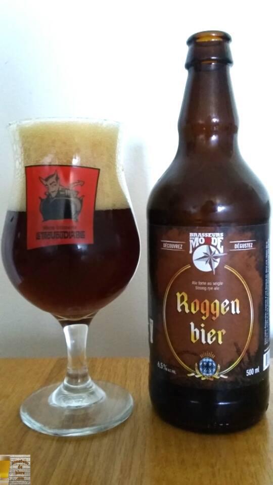 Roggen Bier des Brasseurs du Monde