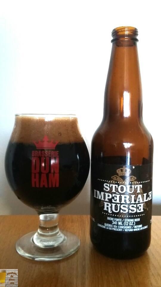 Vieillissement de la bière : Stout Impériale Russe de Dunham
