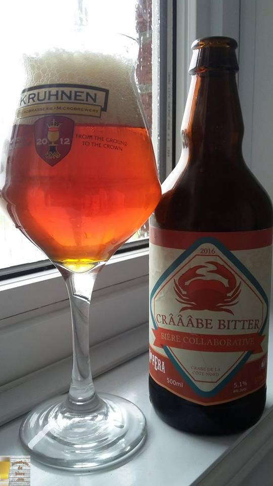 Crâââbe Bitter de St-Pancrace et HopEra