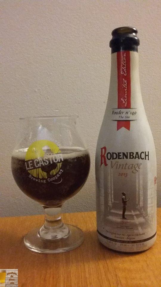 Rodenbach Vintage 2013 de Brouwerij Rodenbach (Belgique)