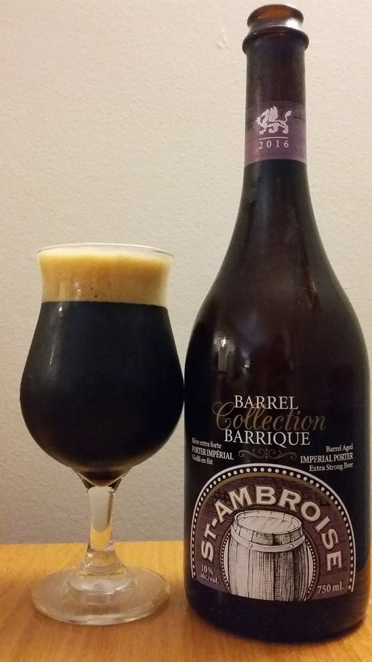 St-Ambroise Porter Impérial Collection Barrique de McAuslan