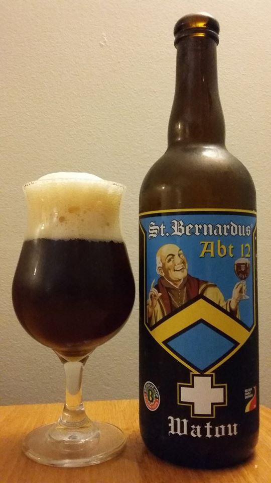 St. Bernardus ABT 12 de la Brasserie St. Bernardus (SAQ)
