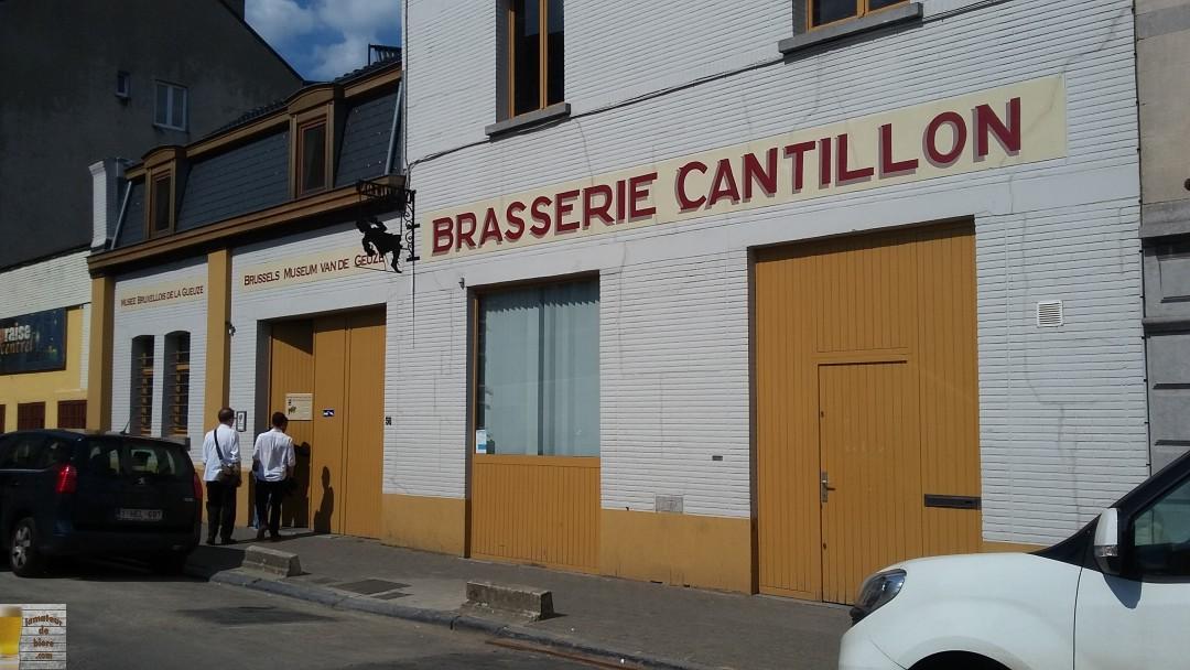 Visite de la Brasserie Cantillon (Belgique)