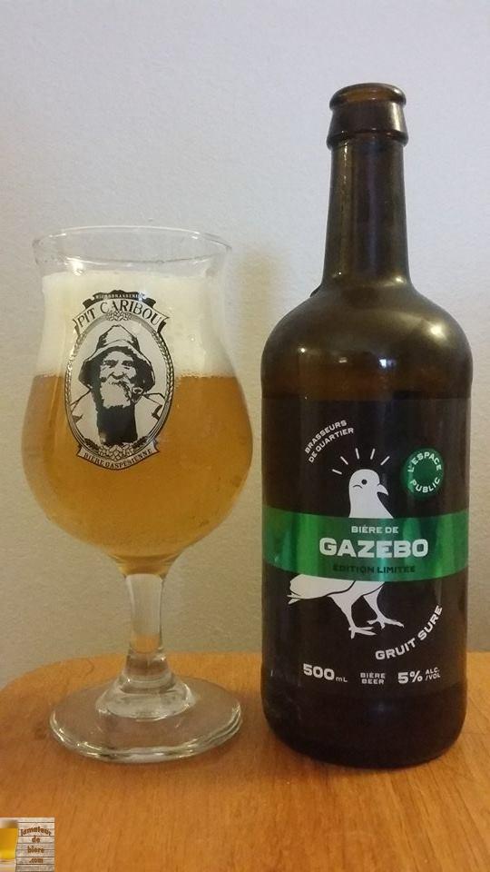 Bière de Gazebo de l'Espace Public