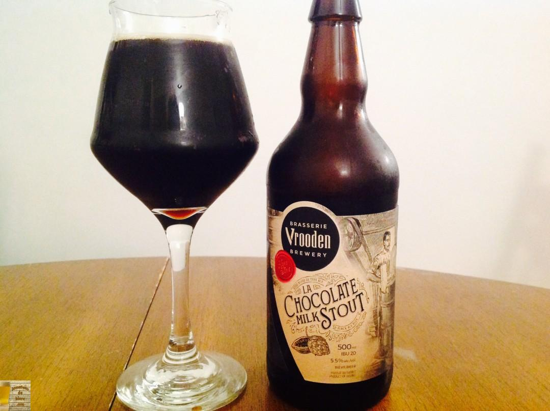 Chocolate milk stout de Vrooden