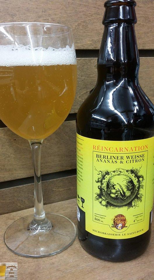 Réincarnation Ananas et Citron du Saint-Bock
