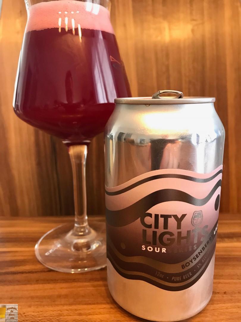 City Lights Boysenberry & Lactose de Foam Brewers
