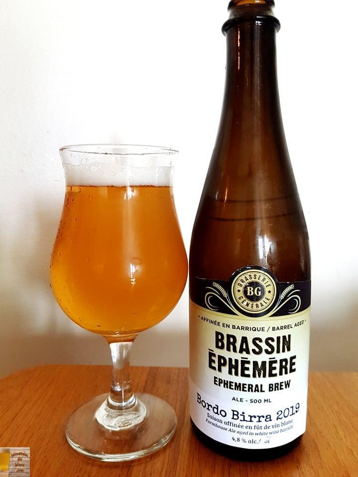 Bordo Birra 2019 de Brasserie Générale