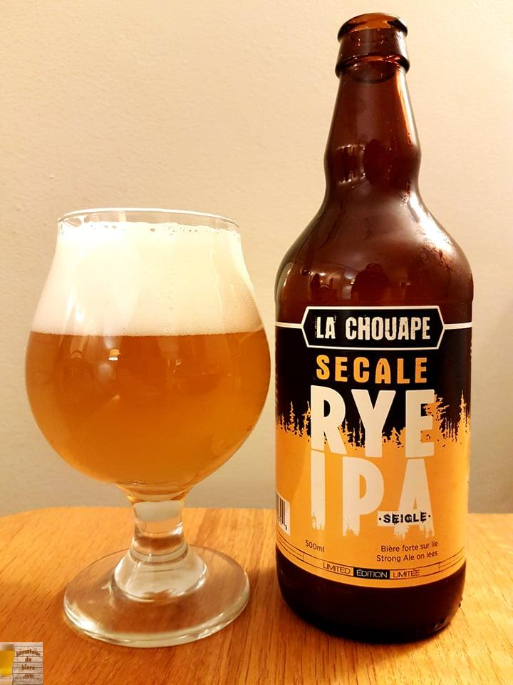Secale Rye IPA de la Chouape