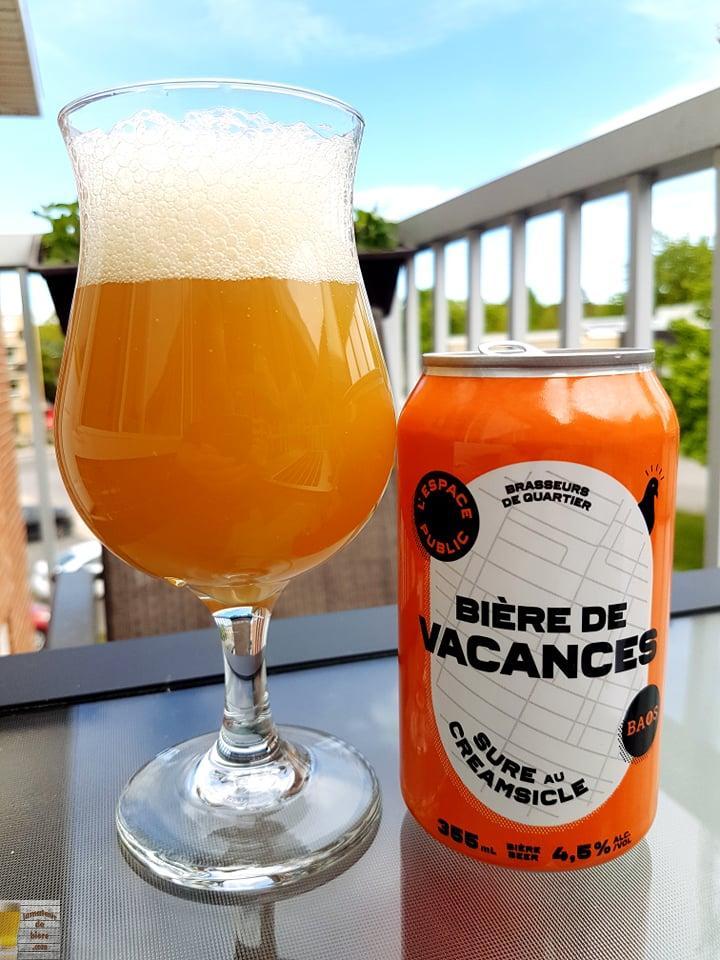 Bière de Vacances de l'Espace Public