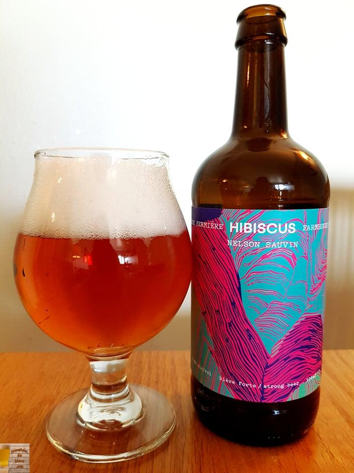 Sure Fermière Hibiscus de la Brasserie Estuaire