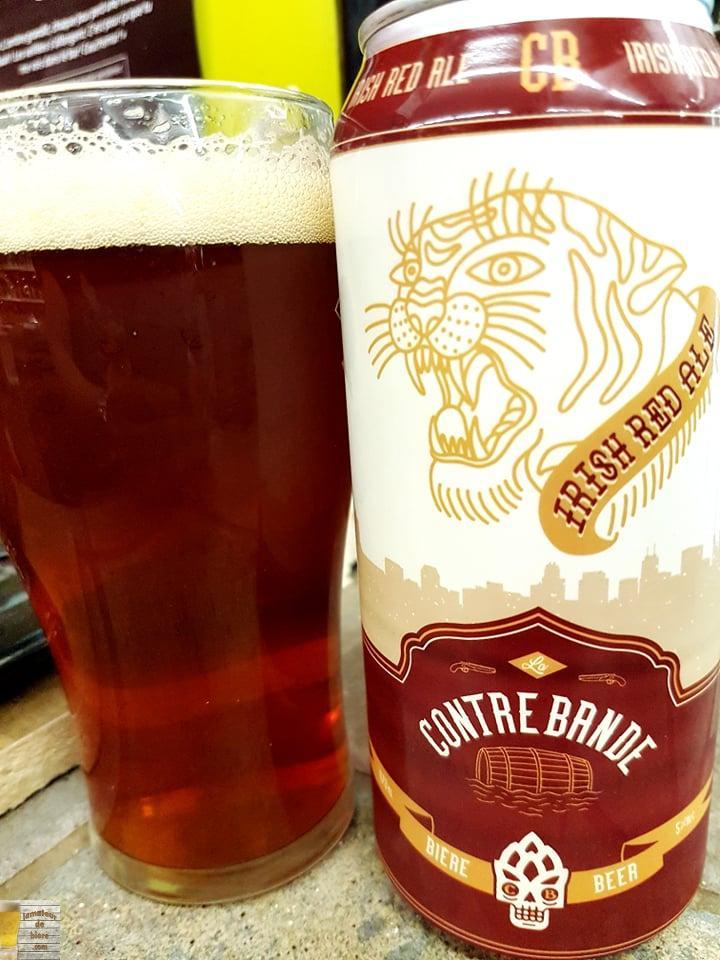 Irish Red Ale de Contrebande