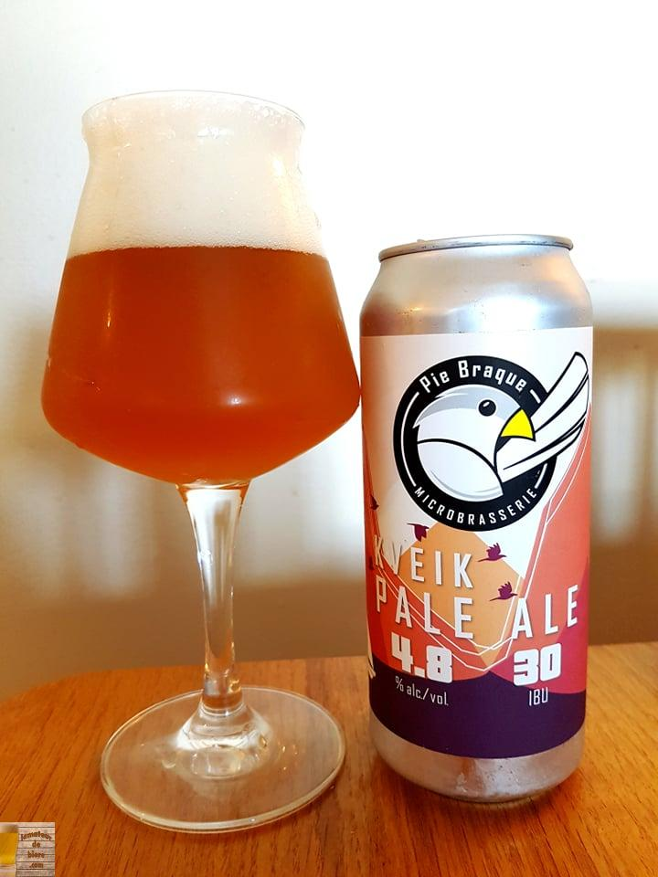 Kveik Pale Ale de Pie Braque