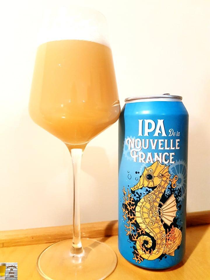 IPA de la Nouvelle-France de la Microbrasserie Nouvelle-France
