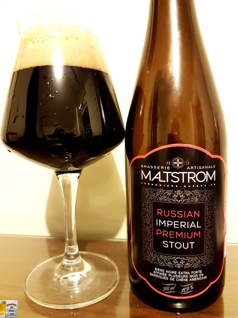 Russian Imperial Premium Stout de Maltstrom