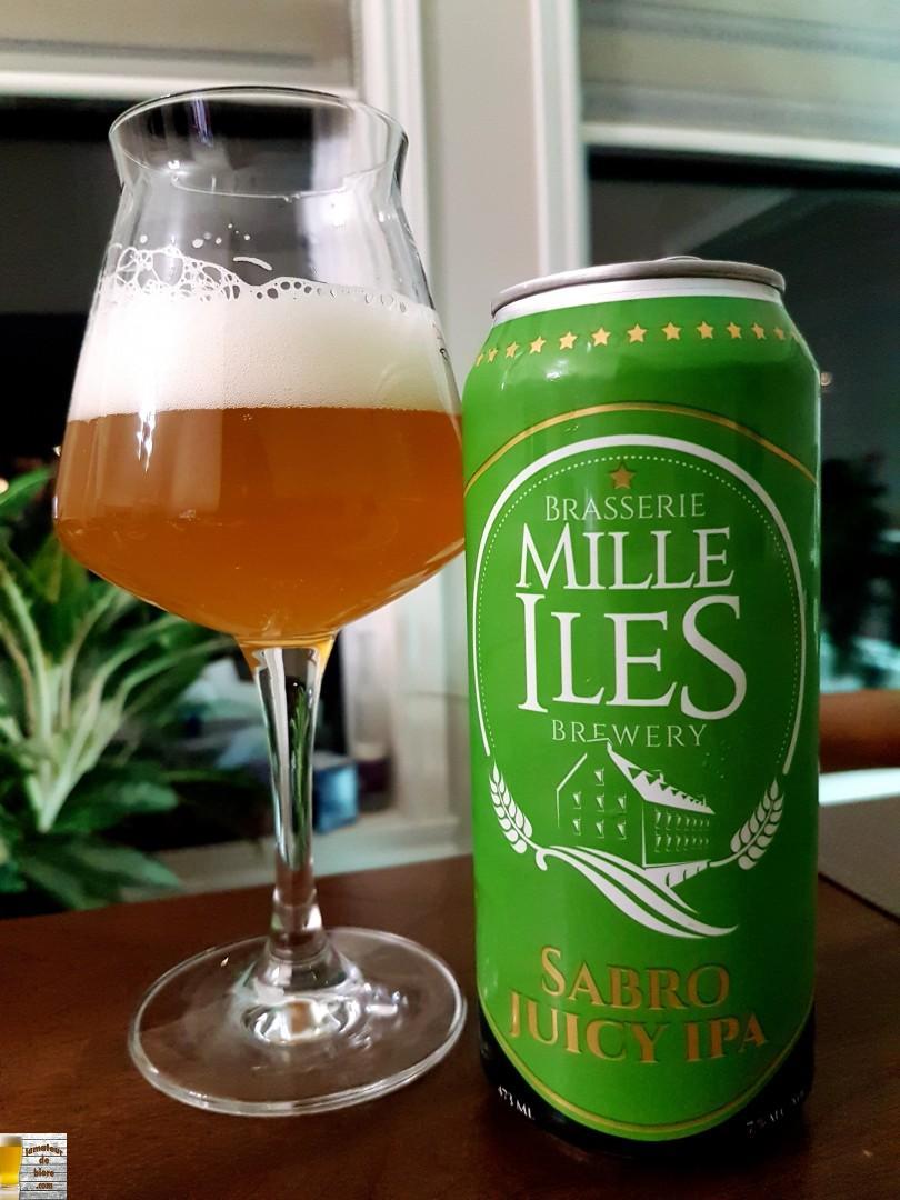 Sabro Juicy IPA de Mille Îles
