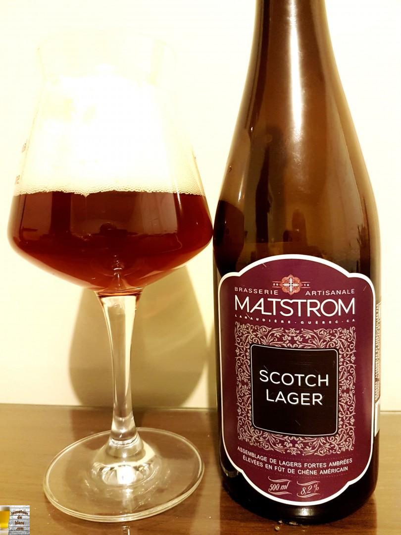 Scotch Lager de Maltstrom