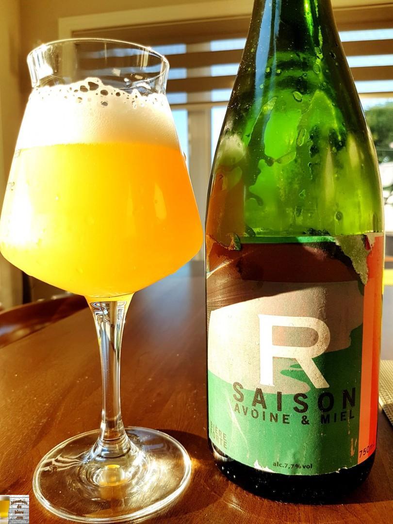 Saison Avoine & Miel de Robin Bière Naturelle