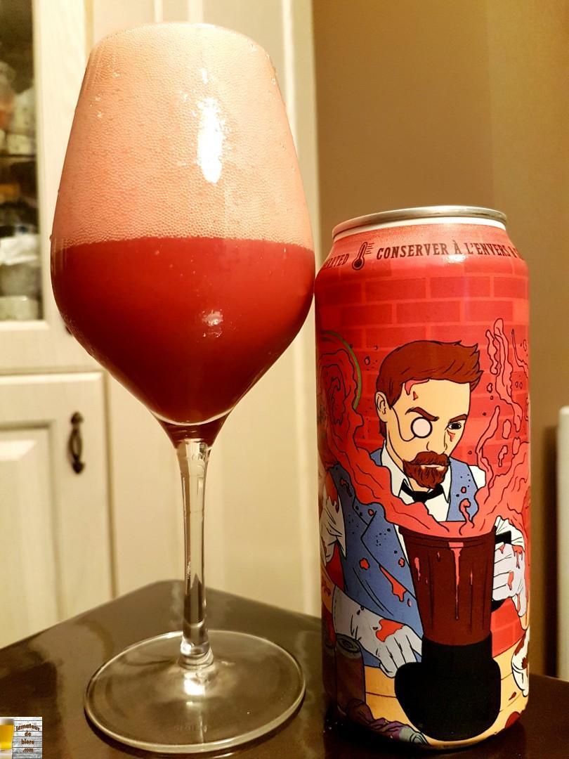 Brew Juice Framboise & Goyave de BreWskey