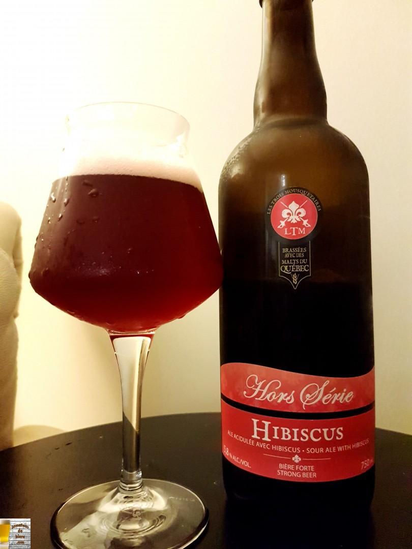 Hibiscus des Trois Mousquetaires