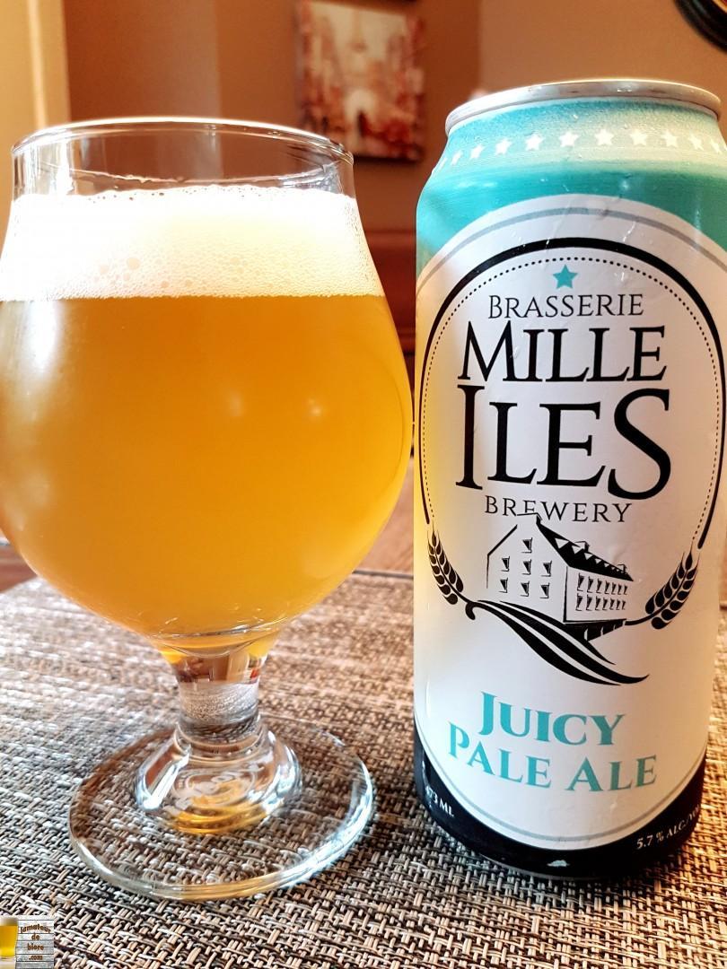 Juicy Pale Ale de Mille Îles