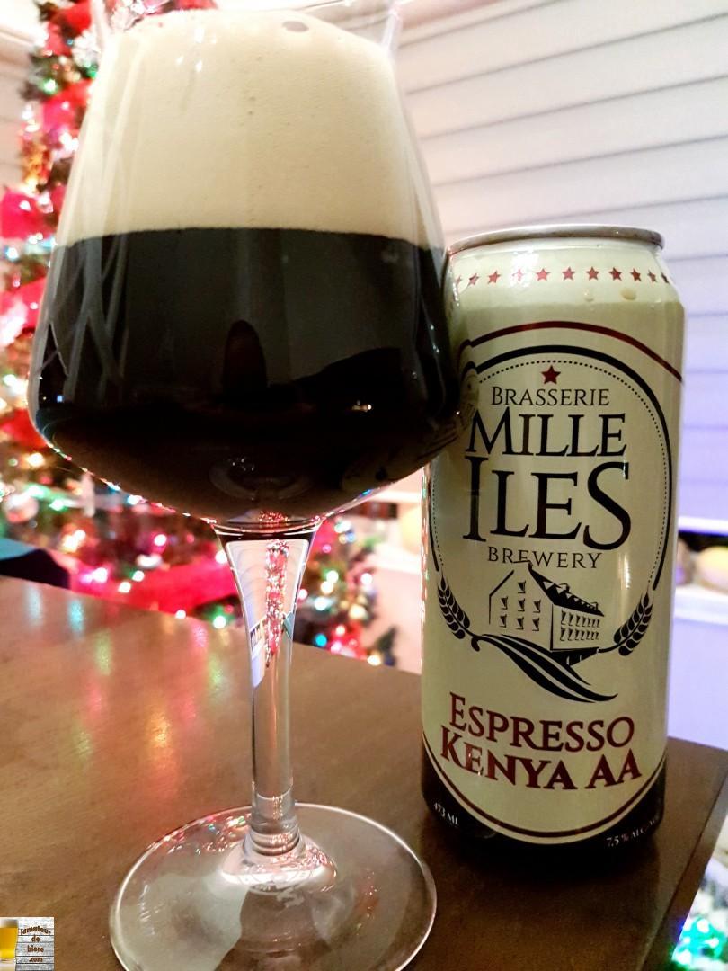 Espresso Kenya AA de Mille Îles