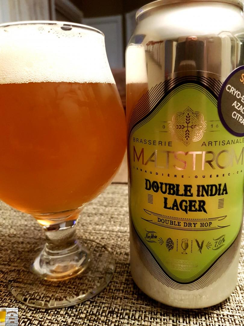 Double India Pale Lager de Maltstrom