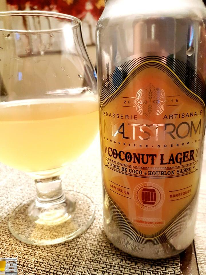 Coconut Lager de Maltstrom