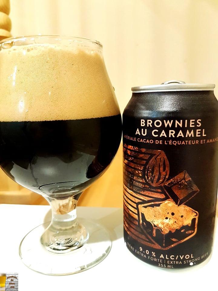 Brownies au caramel de Beauregard