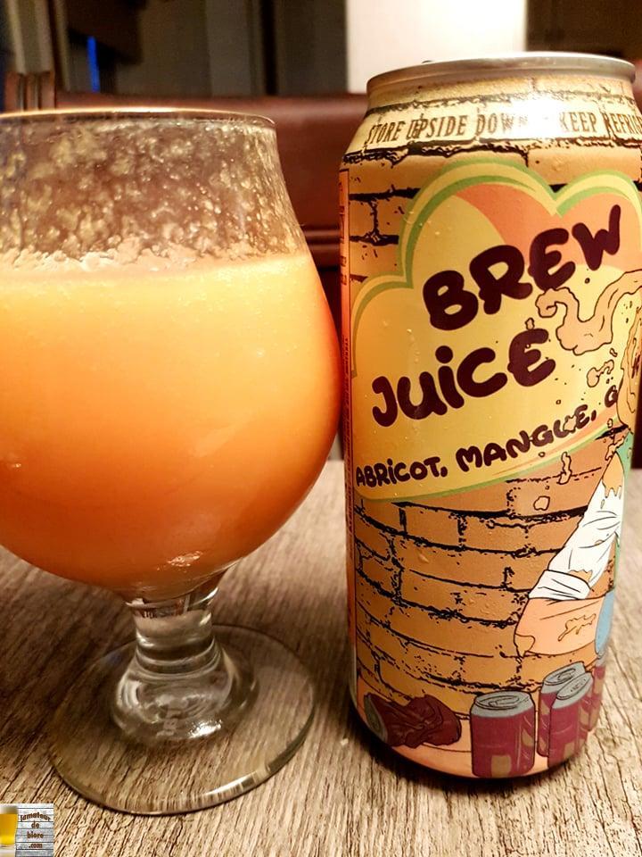 Brew Juice Abricot, mangue et goyave de BreWskey